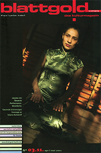 Cover Magazin Blattgold Berlin 4 2011